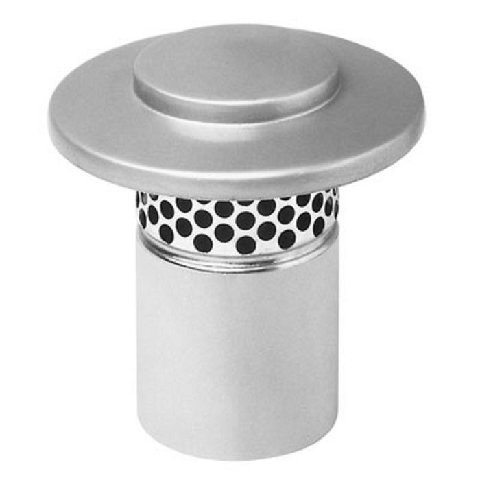 Дефлектор может изготавливаться из оцинковки