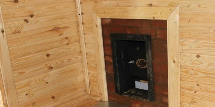 Вентиляционная система в бане
