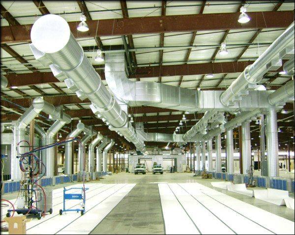 Промышленная вентиляционная система