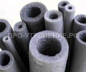 Трубки разного диаметра из пенофола