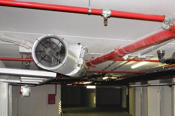 Вентилятор системы дымоудаления