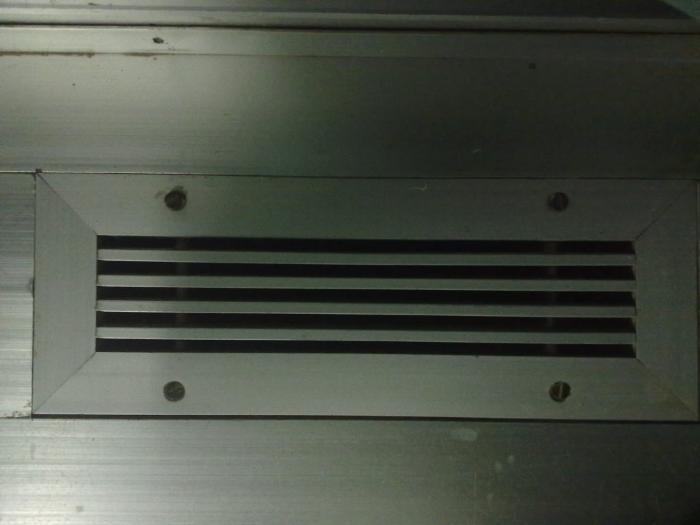 Решетка вентиляции