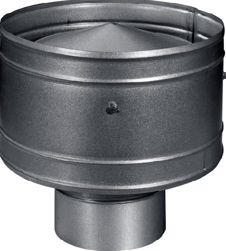 Дефлектор, как средство защиты на входе и выходе воздушных потоков