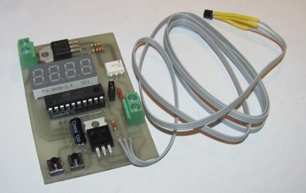 Терморегулятор крупным планом