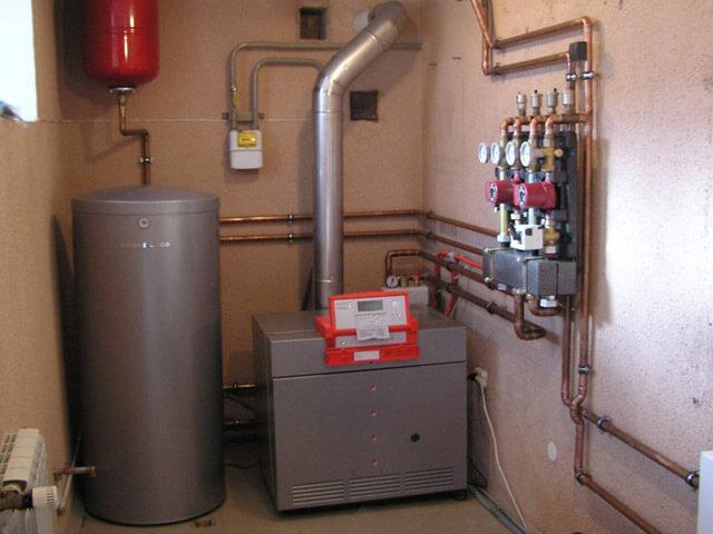 вентиляционный канал для газового котла