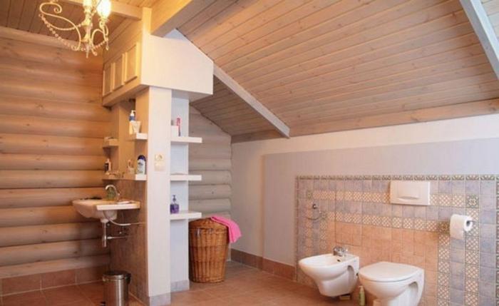 Ванная в частном доме