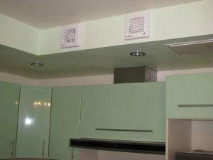 распределение вытяжных вентиляторов на кухне