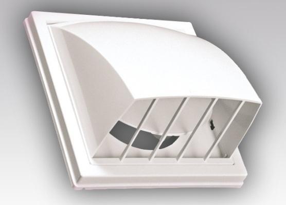 Обратный клапан для вентиляции из пластика