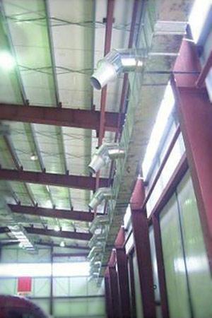 Сопельная вентиляция помещения