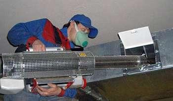 чистка вентиляции в спб и очистка воздуховодов