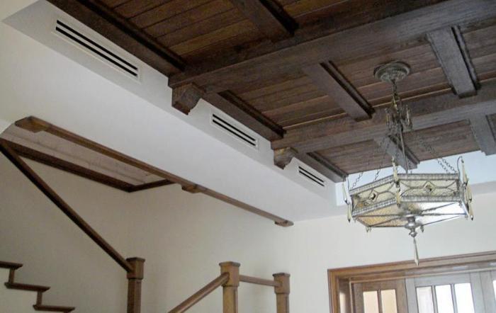 вытяжная труба для вентиляции в частном доме