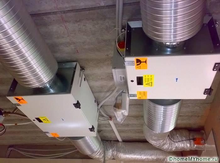 Часть инженерного проекта принудительной вентиляции