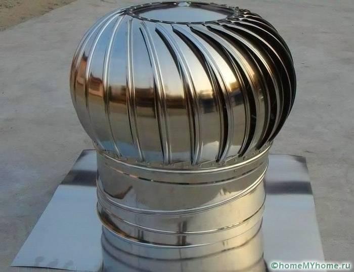 Вращающийся дефлектор