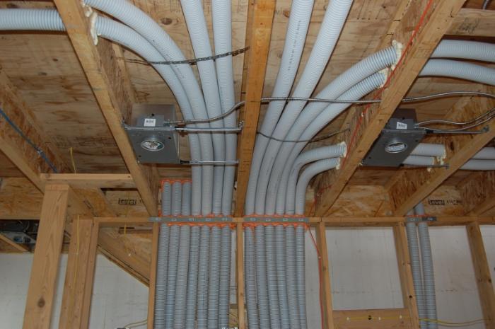 вентиляция в каркасном доме, схема разводки вент каналов