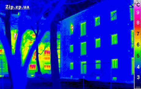 Теплопотери в стандартном жилом доме