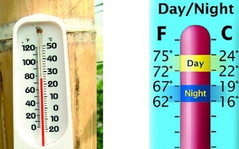 Температура в гроубоксе