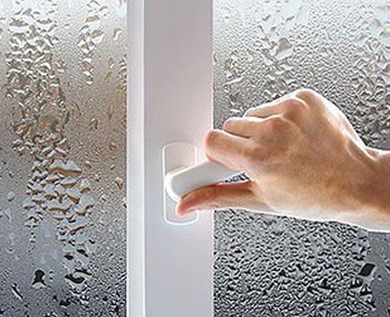 Микропроветривание пластикового окна