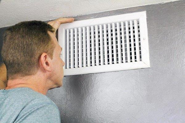 Вентиляционная решетка в квартире