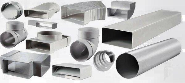 пластиковые каналы для вентиляции, гофры, решетки