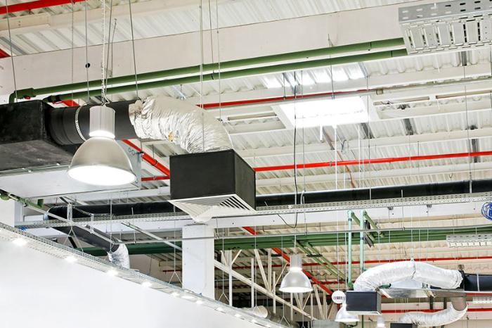 вентиляция административных помещений и зданий