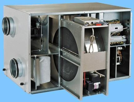 Теплообменник роторного типа
