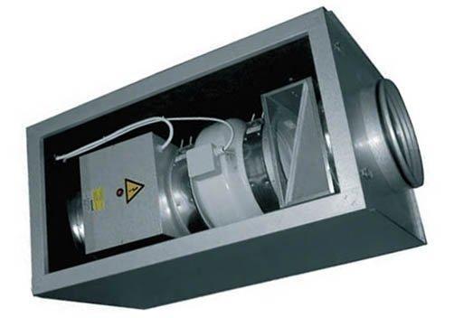 Приточная установка с электрическим калорифером