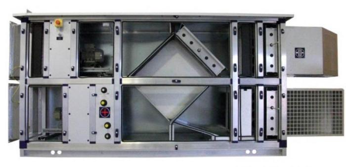 Приточно-вытяжная установка с кондиционером