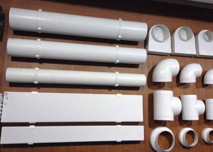 Вытяжные трубы для вентиляции