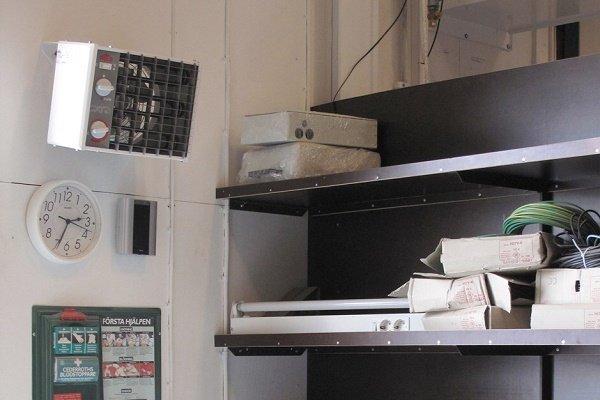 Компактный электрический нагреватель воздуха