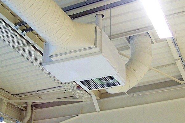 Воздушное отопление с калорифером