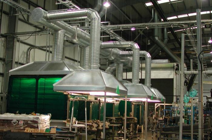 Разработка проекта вентиляции сварочного цеха выполняется профильными специалистами