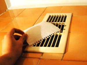 Стандартный тест на работоспособность вентиляции