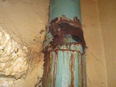 Проблемы с общедомовой системой канализации