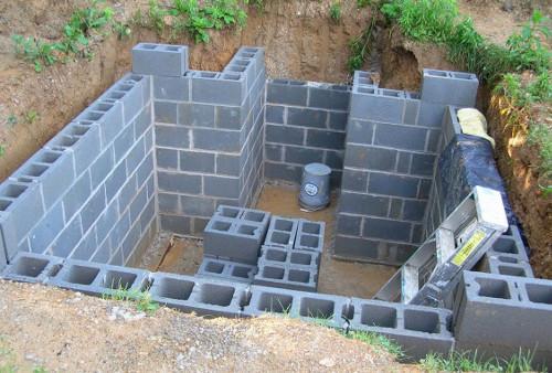 Строительство отдельного погреба