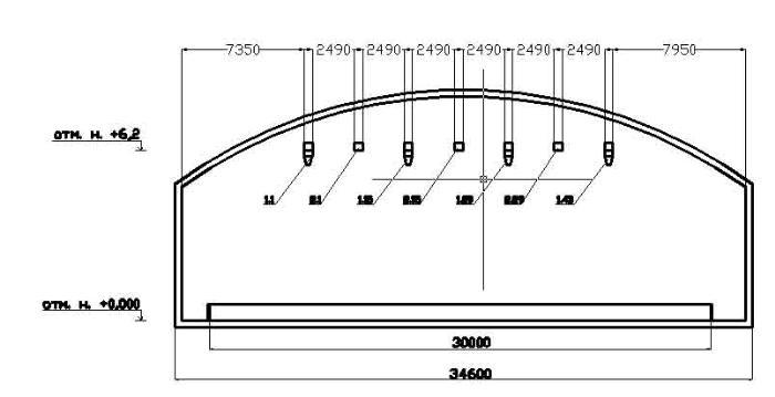 вертикальная схема при проектировании вентиляции. вид сбоку