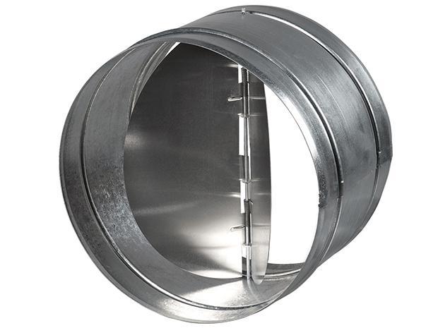 Клапан двухлепестковый на вентиляцию