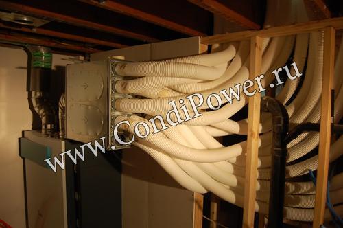 Монтаж системы вентиляции коттеджа