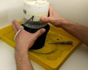Угольный фильтр для гроубокса своими руками: дешевый способ
