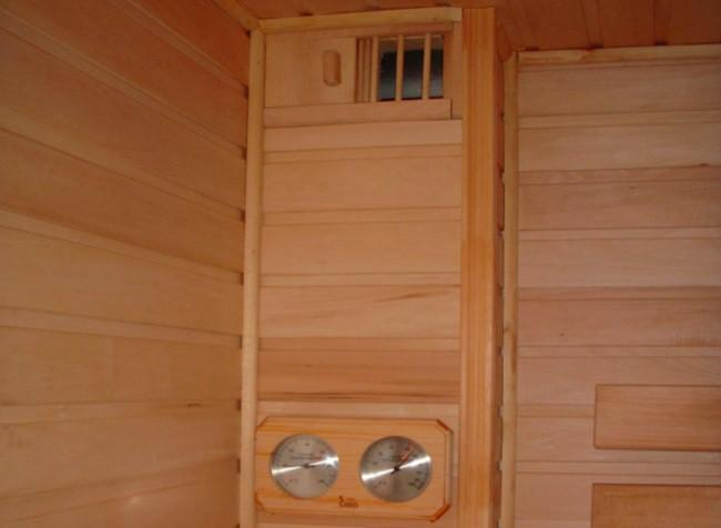 Правильная вентиляция в бане