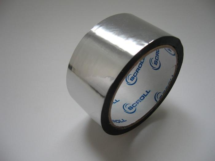 Скотч метализированный