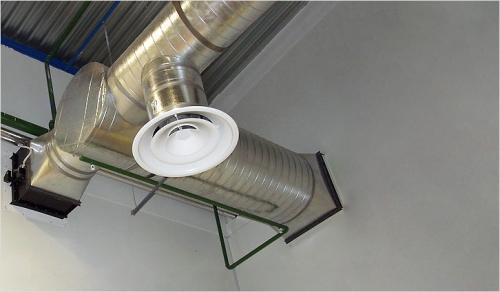 Монтаж принудительной вентиляции в коттедже