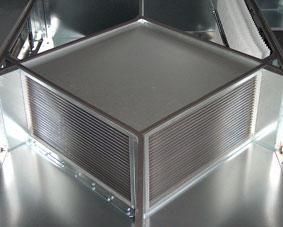 Пластинчатый рекуператор воздуха