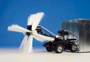 мини-робот для диагностики и чистки вентиляционных каналов