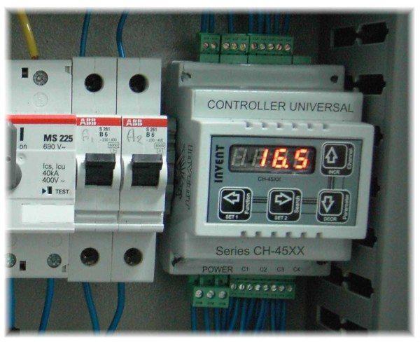 Управление режимами работы оборудования осуществляется с помощью автоматических систем.