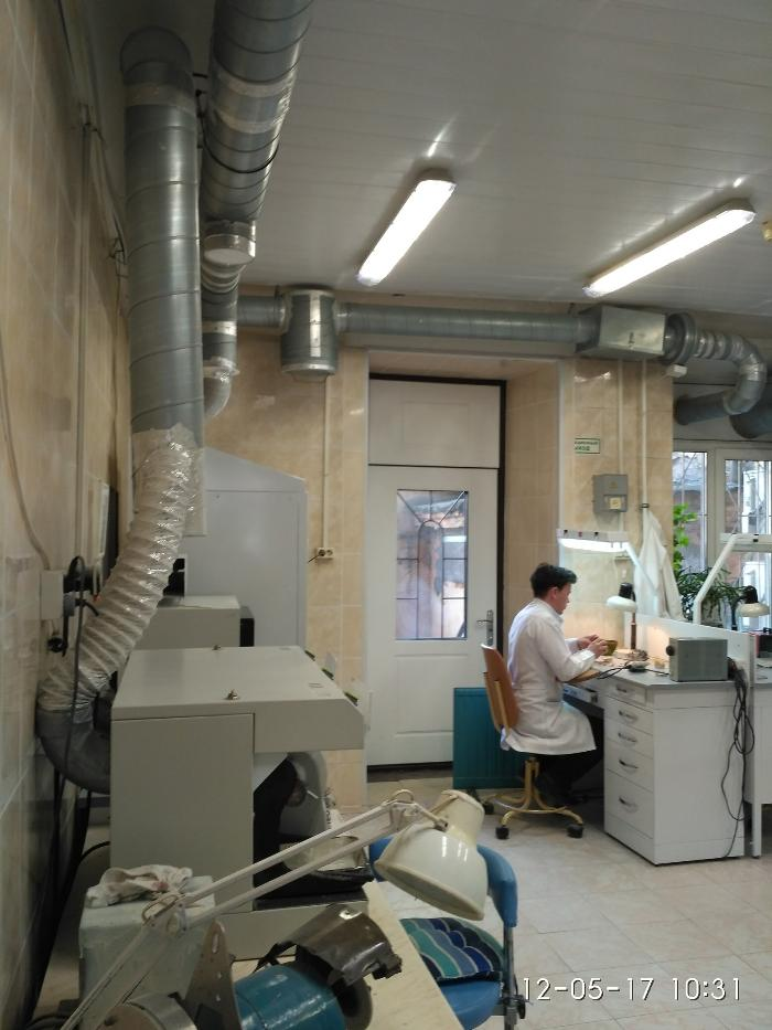 Вентитиляция больницы стоматология