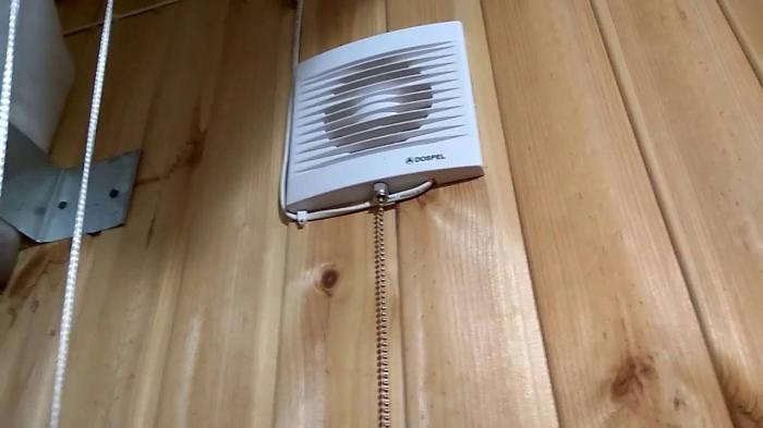 Вентиляция в каркасной бане