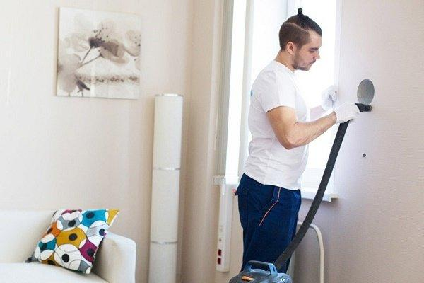 Этап 4: Продувка и очистка вентиляционного канала