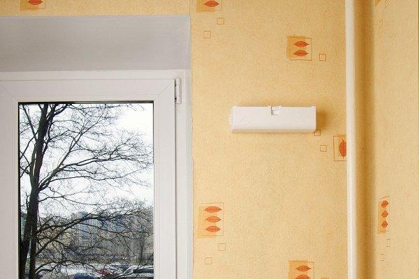 Шаг 7: Проверка работы стенового приточника