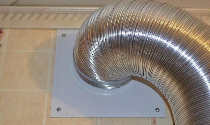 Воздушный гофрированный канал из алюминия